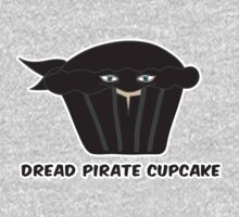 THE DREAD PIRATE CUPCAKE parody One Piece - Long Sleeve