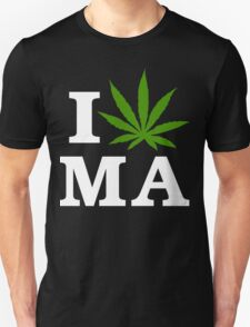 I Cannabis Massachusetts T-Shirt