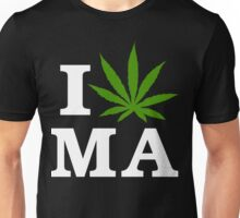 I Cannabis Massachusetts Unisex T-Shirt