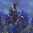 """""""Getting Air"""" Motocross Champion by NaturePrints"""