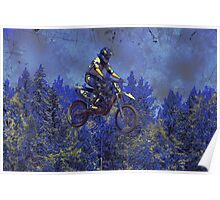 """Getting Air"" Motocross Champion Poster"