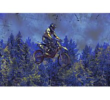 """Getting Air"" Motocross Champion Photographic Print"