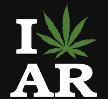 I Cannabis Arkansas by MarijuanaTshirt