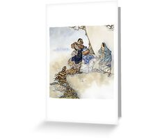 The Winter's Tale Greeting Card