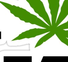 I Marijuana Vermont Sticker