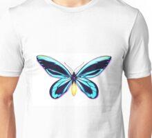 Queen Alexandra's Birdwing Butterfly Teal Unisex T-Shirt