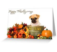 Happy Thanksgiving - Shelter Art Greeting Card