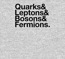Quarks & Leptons & Bosons & Fermions. - black design Unisex T-Shirt