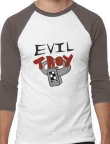 Evil Troy Men's Baseball ¾ T-Shirt