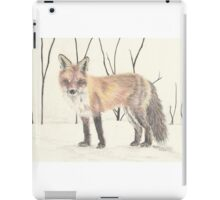 Colored pencil Fox iPad Case/Skin
