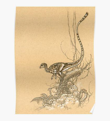 Leaellynasaura Poster