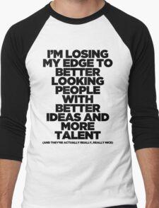 I'm Losing My Edge Men's Baseball ¾ T-Shirt
