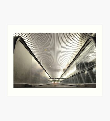 Miami International Airport in Florida Art Print