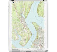 USGS Topo Map Washington State WA Gig Harbor 241271 1959 24000 iPad Case/Skin