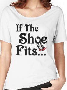 Wizard of Oz - If The Shoe Fits Women's Relaxed Fit T-Shirt