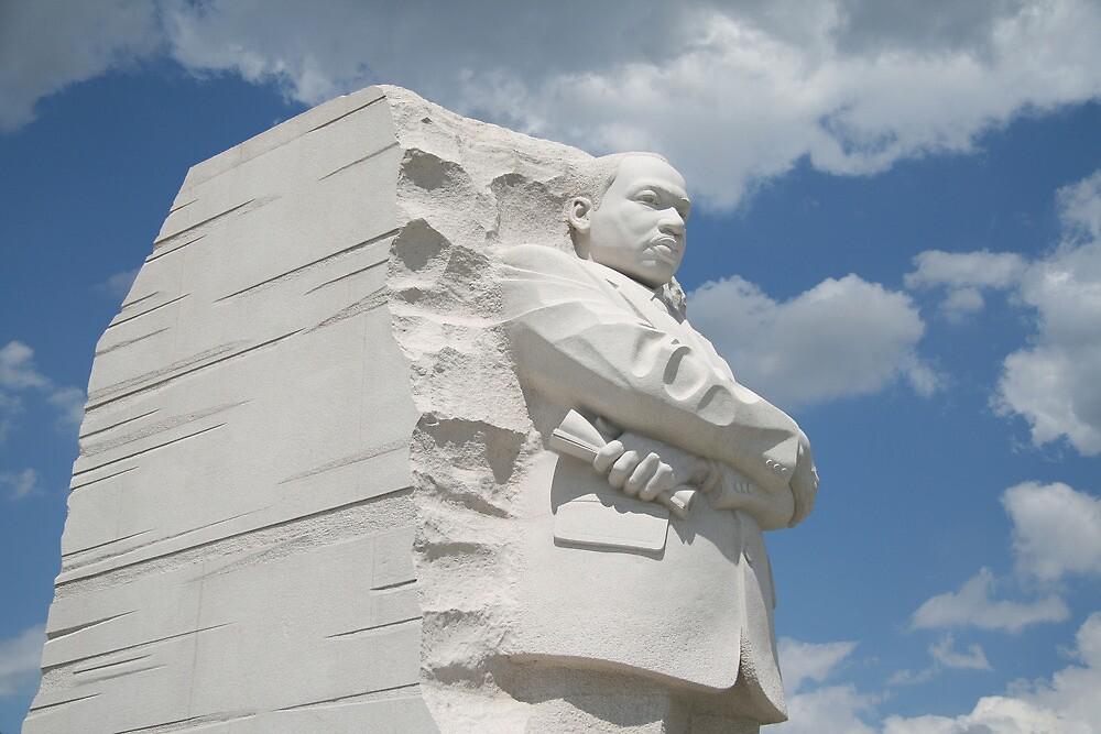 Honoring Martin Luther King by Cora Wandel