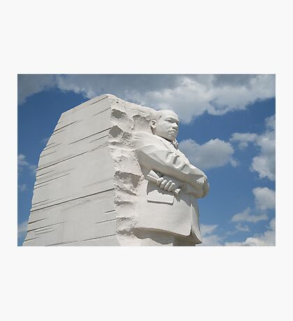 Honoring Martin Luther King Photographic Print