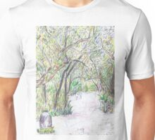 A Path Less Travelled Unisex T-Shirt