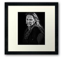 abbey gentleman Framed Print