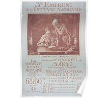 3e Emprunt de la Défense Nationale Le bas de laine Français Poster