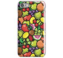 Kawaii Pixel Fruit iPhone Case/Skin