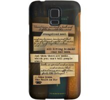 Thoughts From Books on Phones Samsung Galaxy Case/Skin