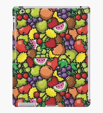 Kawaii Pixel Fruit iPad Case/Skin