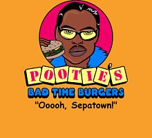 Pootie's Bad Time Burgers Unisex T-Shirt