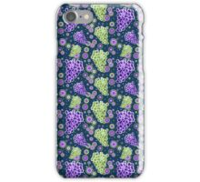 Green and Purple Grapes Pattern iPhone Case/Skin