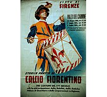 Calcio Fiorentino Parade Poster Florence Italy 19840708 0025 Photographic Print