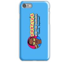 Pootie's Bad Time Burgers iPhone Case/Skin