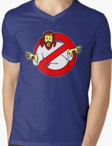 God Busters Mens V-Neck T-Shirt