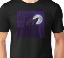 Eerie Wolf Unisex T-Shirt