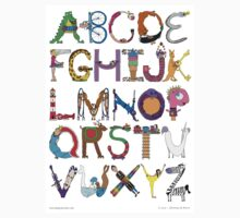 Children's Alphabet Kids Clothes