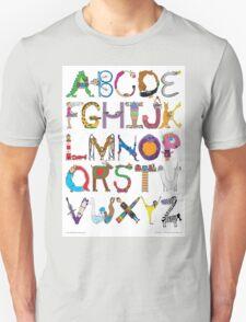 Children's Alphabet Unisex T-Shirt