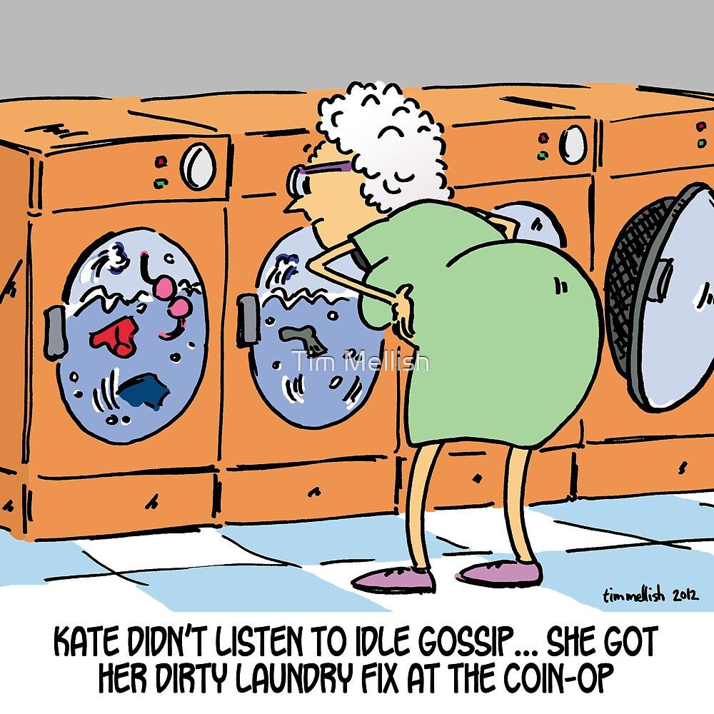 Dirty laundry fix by Tim Mellish