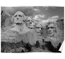Evening at Mt. Rushmore Poster