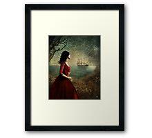 the sailor's wife Framed Print