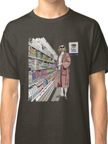 Jeffrey Lebowski and Milk. AKA, the Dude. Classic T-Shirt
