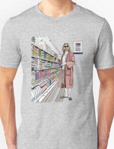 Jeffrey Lebowski and Milk. AKA, the Dude. T-Shirt