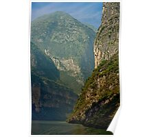 Three Gorges River Bend Poster