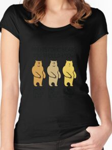 Prehistoric Bears You Should Know Women's Fitted Scoop T-Shirt