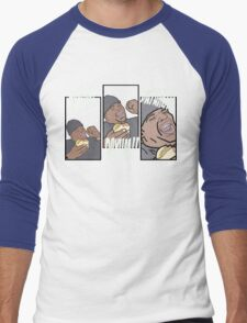 This is How A Burger Is Supposed to be... Men's Baseball ¾ T-Shirt