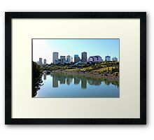Downtown Edmonton Framed Print