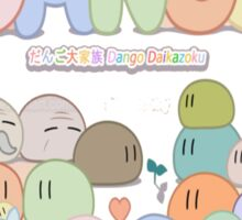 Clannad Dango Family T-Shirt Sticker