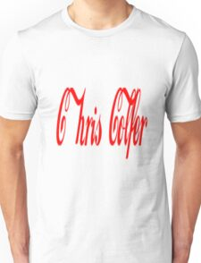 chris colfer coca cola design Unisex T-Shirt