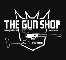 The Cybertron Gun Shop by Brad linf