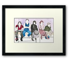 The Breakfast Club Framed Print