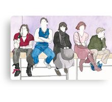The Breakfast Club Canvas Print