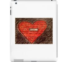 His Kiss iPad Case/Skin